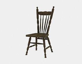 3D Farmhouse Chair