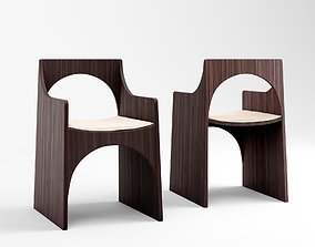 3D model Christophe Delcourt Cle chair and Sol table