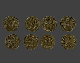 3D model Medieval Money Grecia