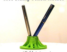 3D print model TREE STUMP PENCIL HOLDER