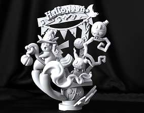 Pokemon Halloween Edition STL for 3D Printing