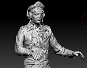 3D print model German officer war