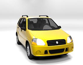 SUZUKI IGNIS 2001 5D LOWPOLY 3D asset