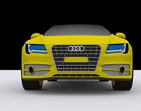 3D Audi s7 car