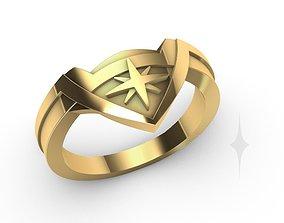 Ring Engagment Wonder Woman 3D print model