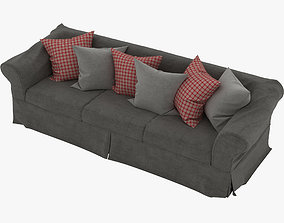 Sofa 4-Seater 3D model