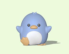 3D printable model Little Penguin