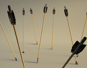 3D asset ARCHERY---Arrow