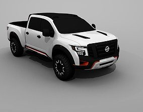 Nissan Titan Warrior 2018 3D model