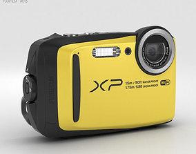 3D Fujifilm FinePix XP90 Yellow