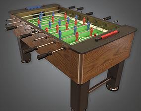 Foosball 01 Arcades - PBR Game Ready 3D asset