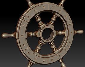 3D printable model steering wheel