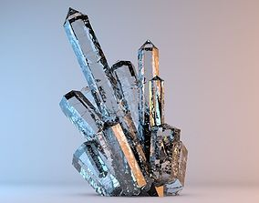 other 3D model Beautiful Mineral Crystals 1