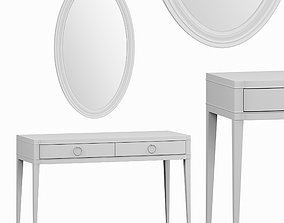 3D model Dressing table with mirror by Deni Art