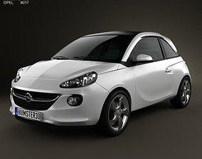 Opel Adam 2013 3D