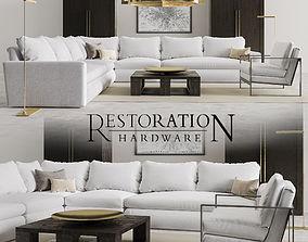 Restoration Hardware Set 3D model
