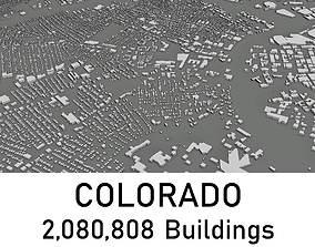 low-poly Colorado - 2080808 3D Buildings