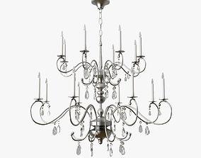 furniture light chandelier 3D model