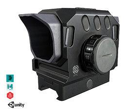 3D model VR / AR ready DI Optical EG1 Red Dot Sight