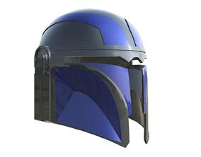 Mandalorian helmet 3D print model