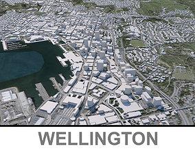 3D asset Wellington Capital of New Zealand