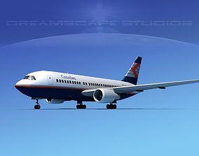 Boeing 767-200ER Canadian 3D