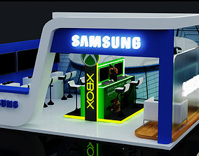 3d Exhibition stand tradeshow