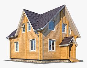 Log House 06 3D