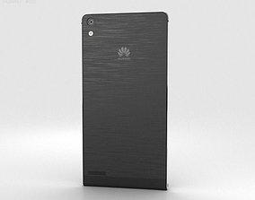 3D Huawei Ascend P6 S Black