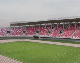 3D asset Guangzhou Tianhe Stadium
