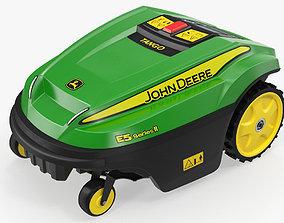 3D John Deere Tango E5 Robotic Lawn Mower Rigged