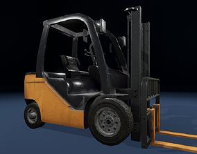 Forklift ue4 3D asset game-ready