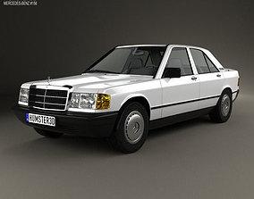 Mercedes-Benz 190 1982 3D model