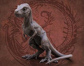 Baby tyrannosaur 3D printable model