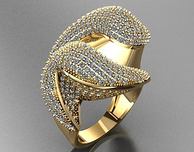 Fancy Ring jewelry 3D printable model