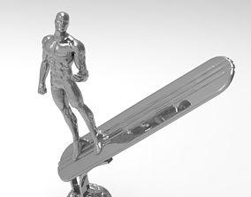 Silver Surfer Statue 3D print model