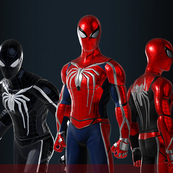 Spiderman Custom Suit design