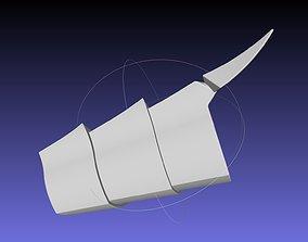 Shield Hero Curse Armor Shin Piece 3D printable model