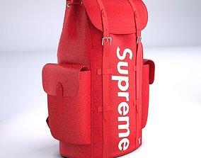 3D model Supreme Louis Vuitton Bag Christopher Backpack PM