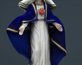 Sacred heart of Maria 3D model