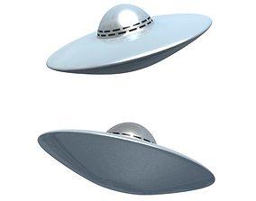 flying-saucer UFO 3D model