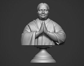 3D print model Jayalalitha Bust miniatures
