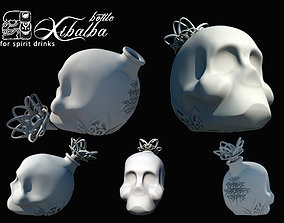 Xibalba Bottle 3D printable model