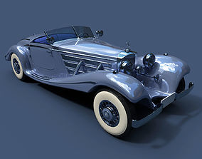 Mercedes-Benz 540k Special Roadster 3D model