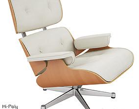 3D model Vitra Lounge Eames Chair - Hi-Poly