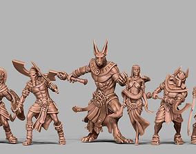 3D printable model Egyptian bundle - 6 miniatures