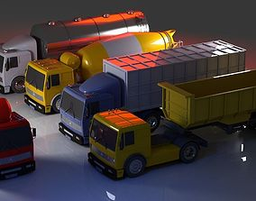 3D model Truck collection 1