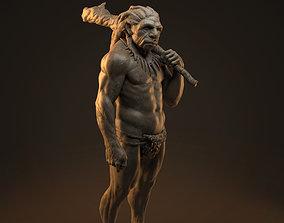 3D print model neanderthal Caveman