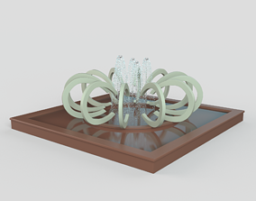 3D jet Fountain