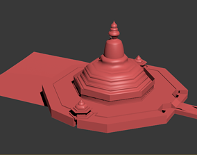 Global Vipassana Pagoda Mumbai 3D model